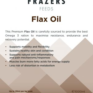 Flax Oil 1000ml