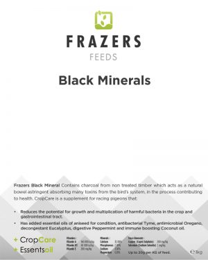 Black Minerals 1kg - Multivitamin with Charcoal