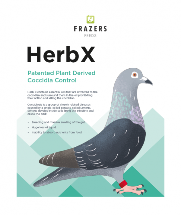 HerbX Patented Plant Derived Coccidia Control
