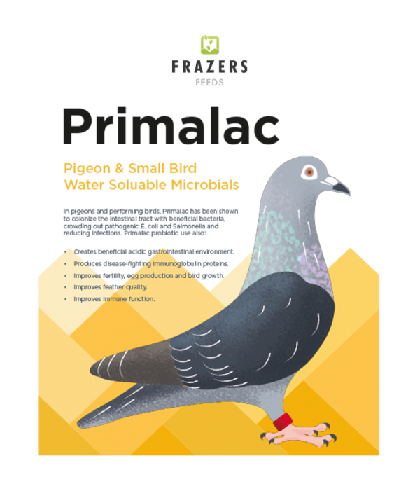 Primalac - Water Soluable Avian Microbials