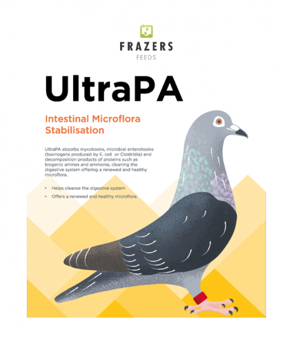 UltraPA - Toxin Binder Probiotic Pigeon