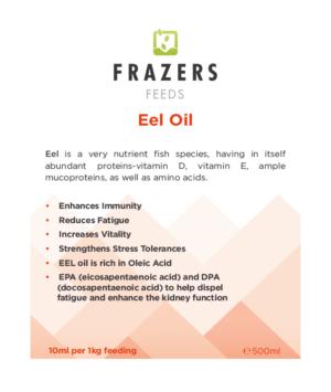 Eel Oil - Vitality Oil