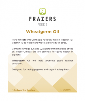 Wheatgerm Oil 500ml